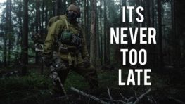 Military Motivational – It's Never Too Late Never Give Up!
