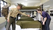 U.S. Marine Teaches Reporter How to Make a Military-Style Bed